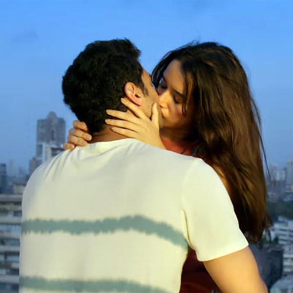 ok jaanu shraddha kapoor and aditya roy kapur kiss scene