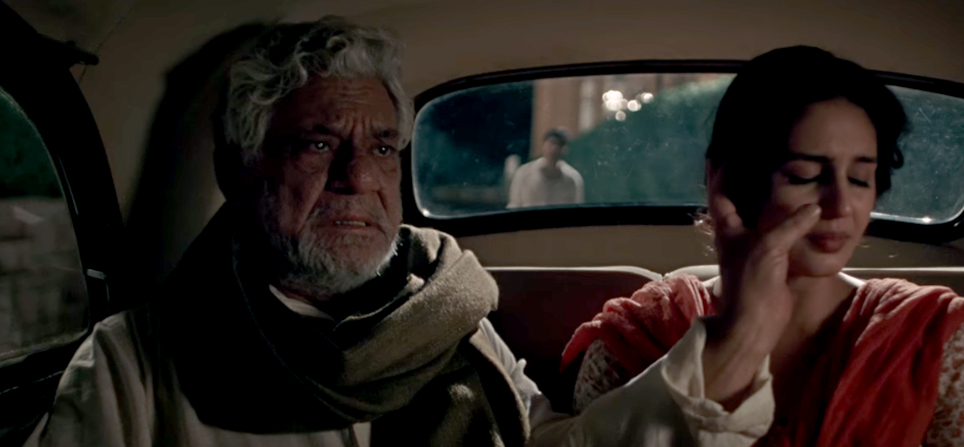 om puri huma qureshi in viceroys house