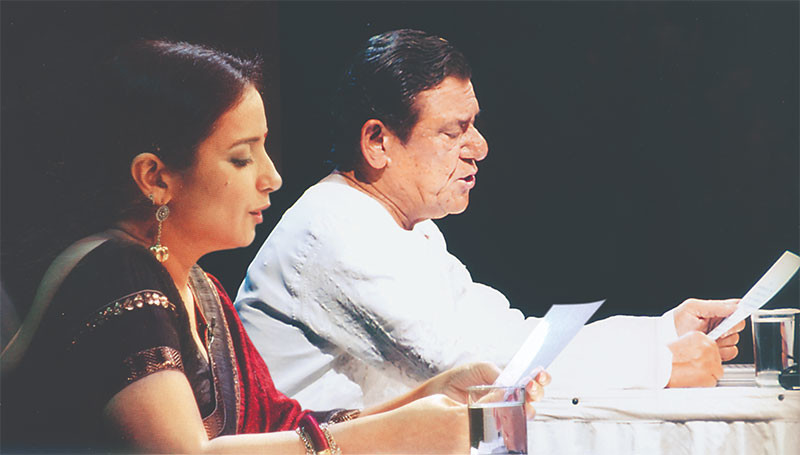 Om Puri And Divya Dutta