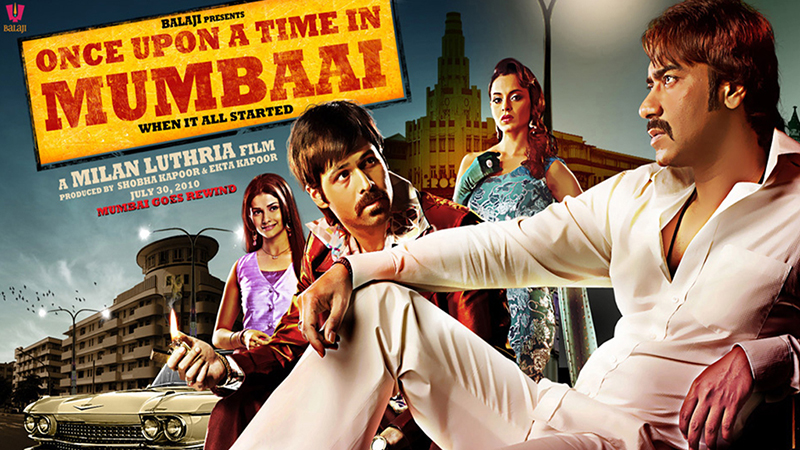 once upon a time in mumbaai poster