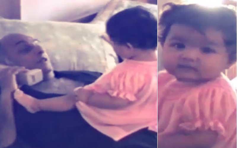 1-Year-Old Alia Plays On Mahesh Bhatt's Tummy In This Throwback Video
