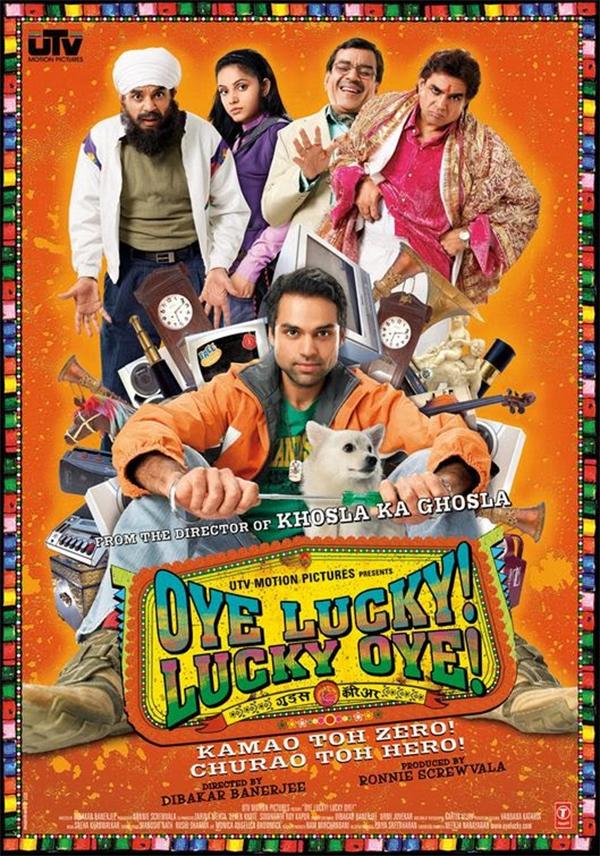 oye lucky lucky oye poster