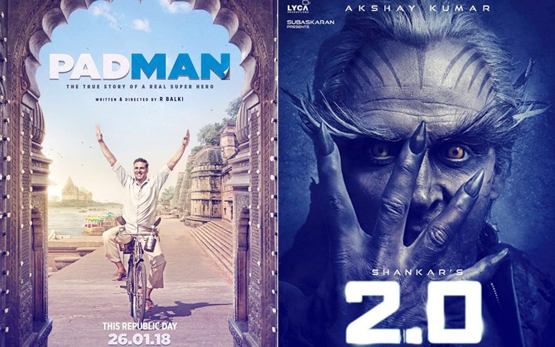 Padman To Release With Robot 2.0 On Republic Day 2018; One Will Step Back, But Who?