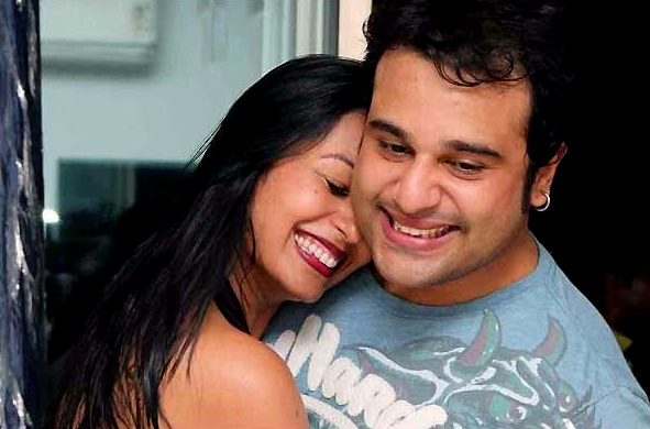 parents of twins krushna abhishek and kashmera shah