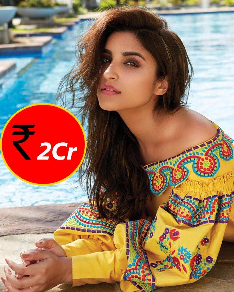 parineeti chopra charges 2 cr for movies