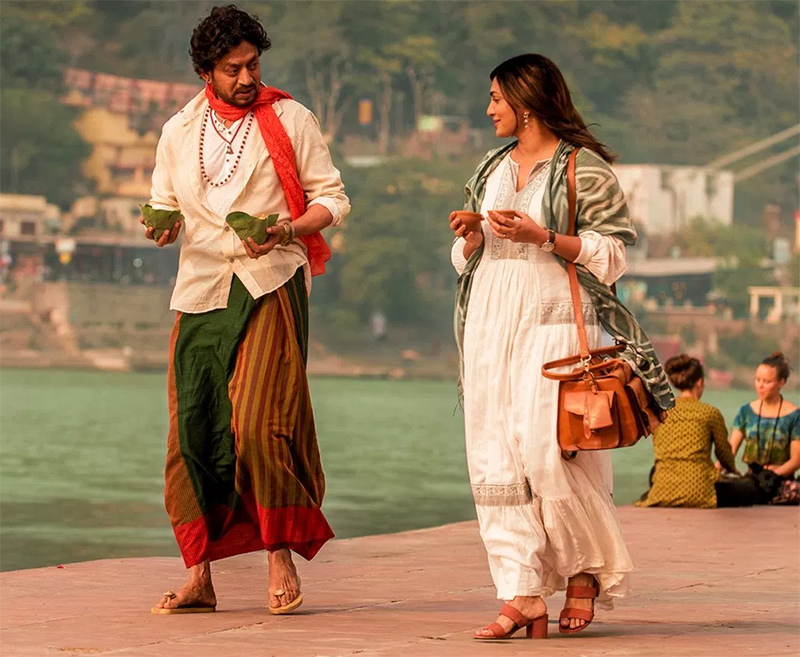 parvathy menon and irrfan khan in qarib qarib singlle