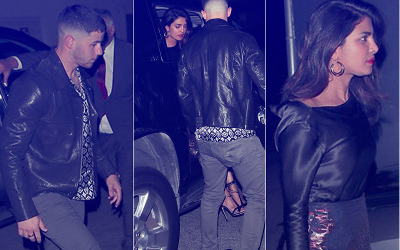 Nothing To Hide: Priyanka Chopra Openly Gets Cosy With Nick Jonas Over Dinner