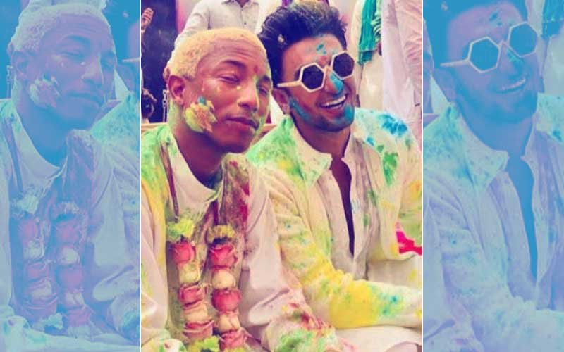 Because They're 'Happy': Ranveer Singh & Pharell Williams' Colourful Holi Is Breaking The Internet