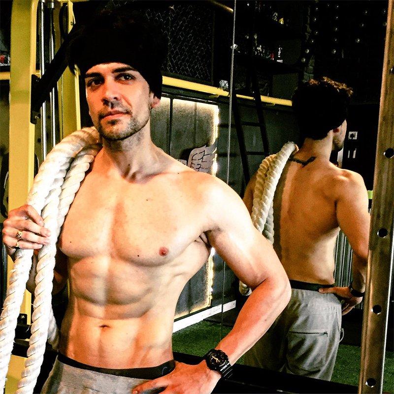 piyush sahdev in a gym