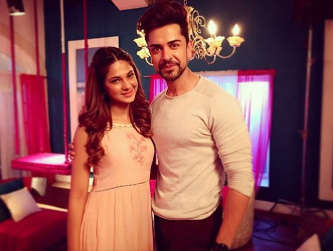 piyush sahdev with jennifer winget