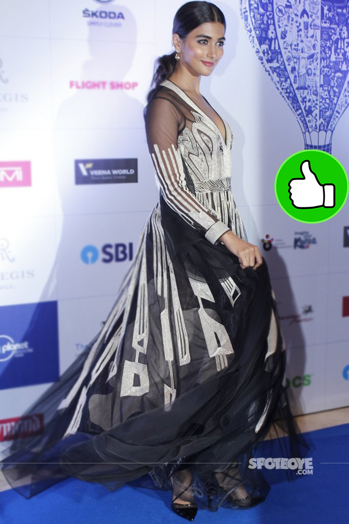 pooja hegde at lonely planet awards