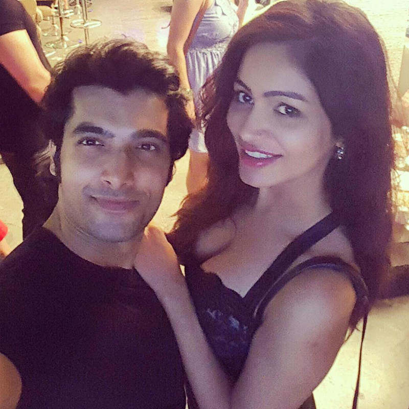 Pooja And Ssharad In Happier Times