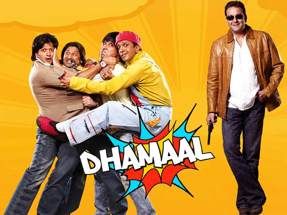 poster of dhamaal