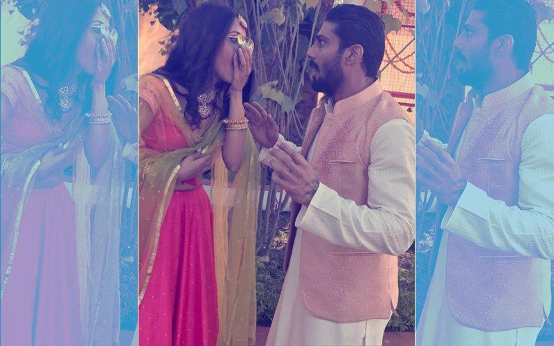 Prateik Babbar Gets Engaged To Girlfriend Sanya Sagar