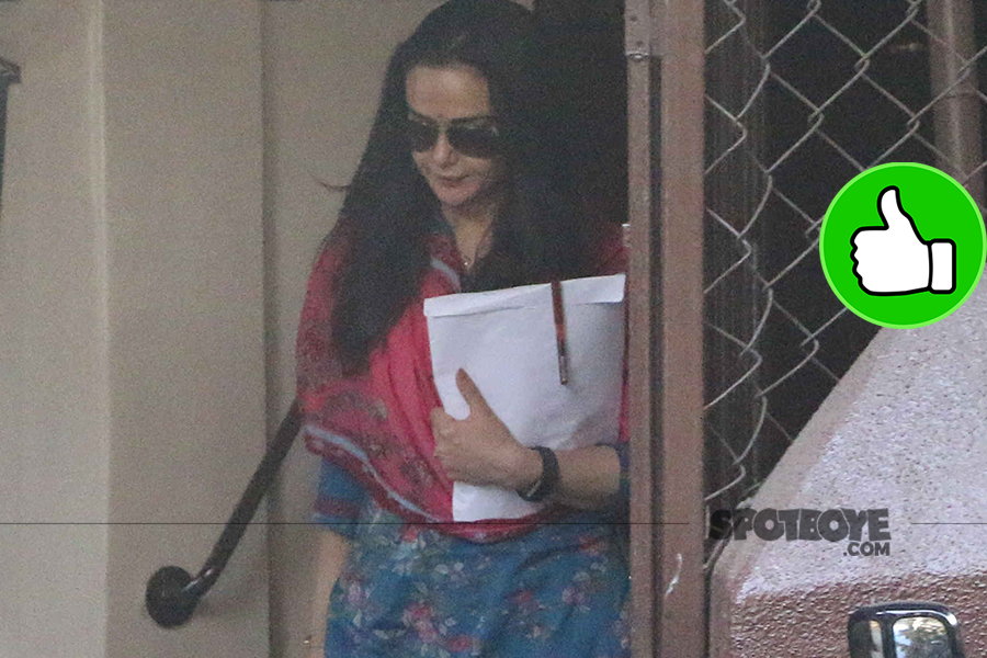 preity zinta snapped post dubbing session