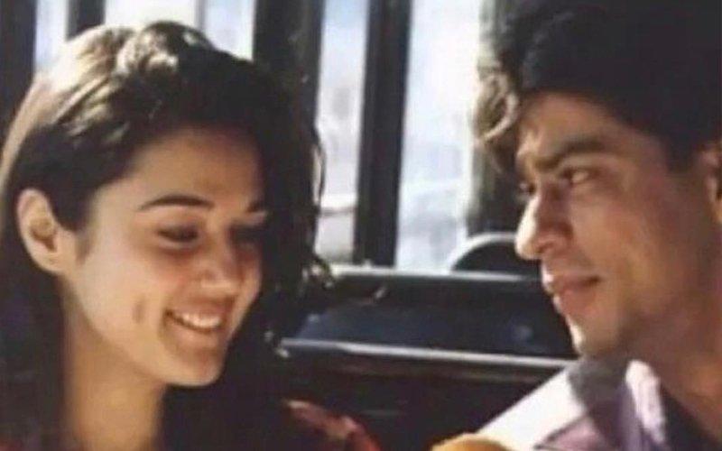 When Preity Zinta & Shah Rukh Khan Took A Bus Ride Together