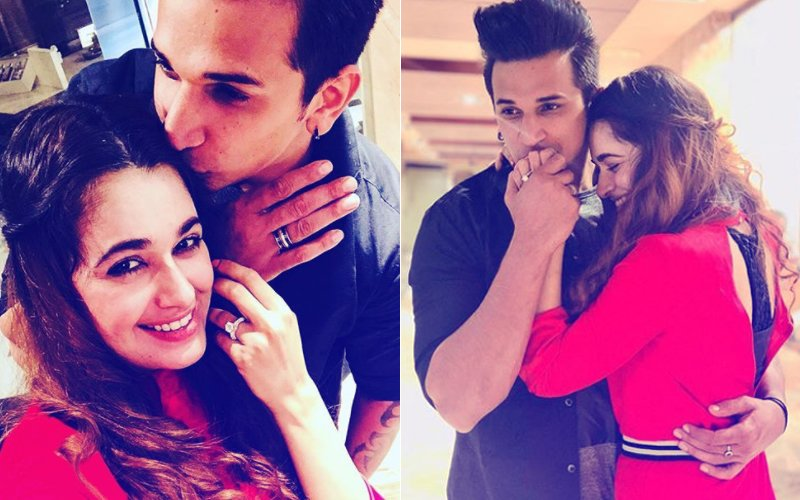 It's OFFICIAL! Lovebirds Prince Narula & Yuvika Chaudhary Are Engaged