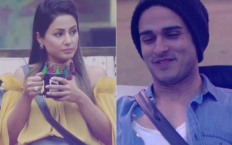 Bigg Boss 11: OMG! Priyank Sharma Shows MIDDLE FINGER To Hina Khan