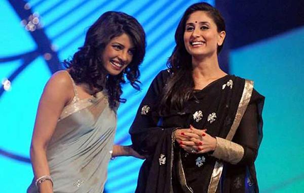 priyanka chopra and kareena kapoor share a candid moment