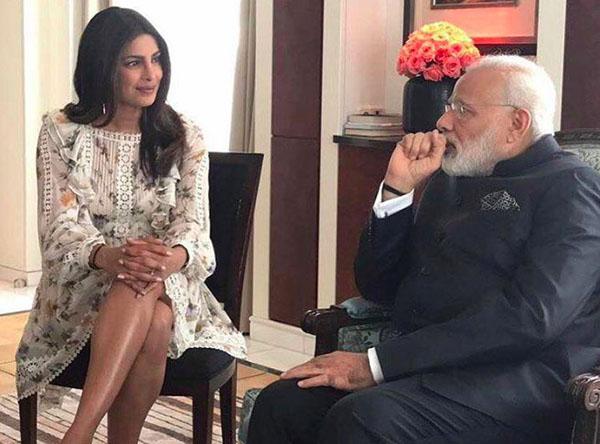 priyanka chopra and pm narendra modi meet up in berlin