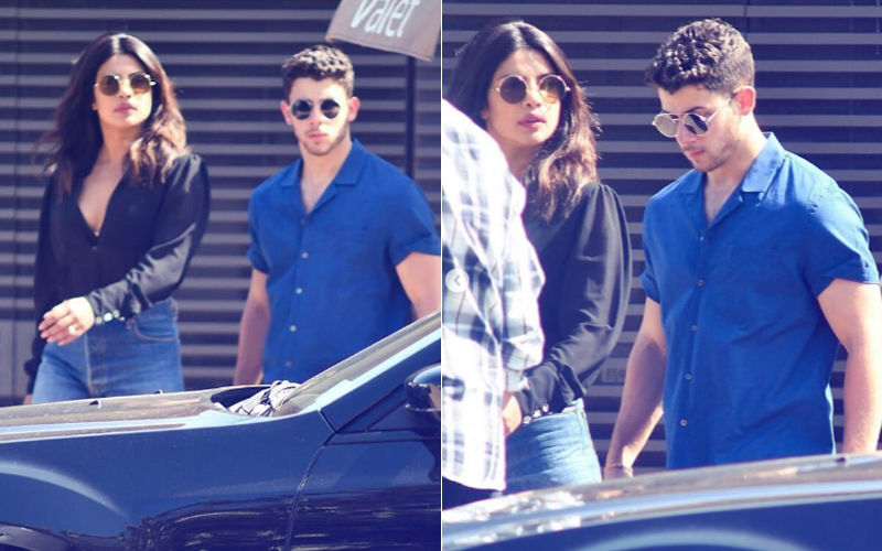Priyanka Chopra & Nick Jonas' First Date After Engagement- View Pics