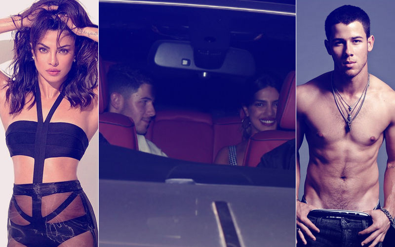 Caught! Priyanka Chopra With Boyfriend Nick Jonas Coming Out Of Her House