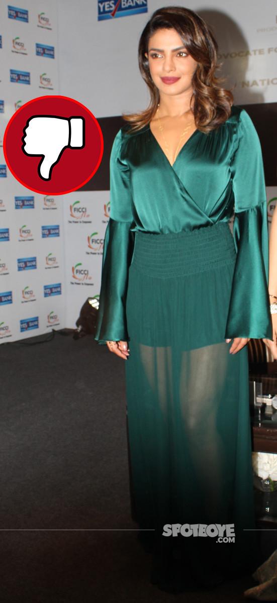 priyanka chopra at an event in delhi