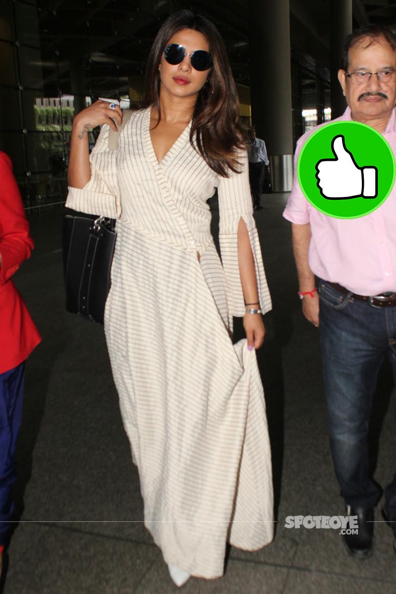 priyanka chopra at the airport