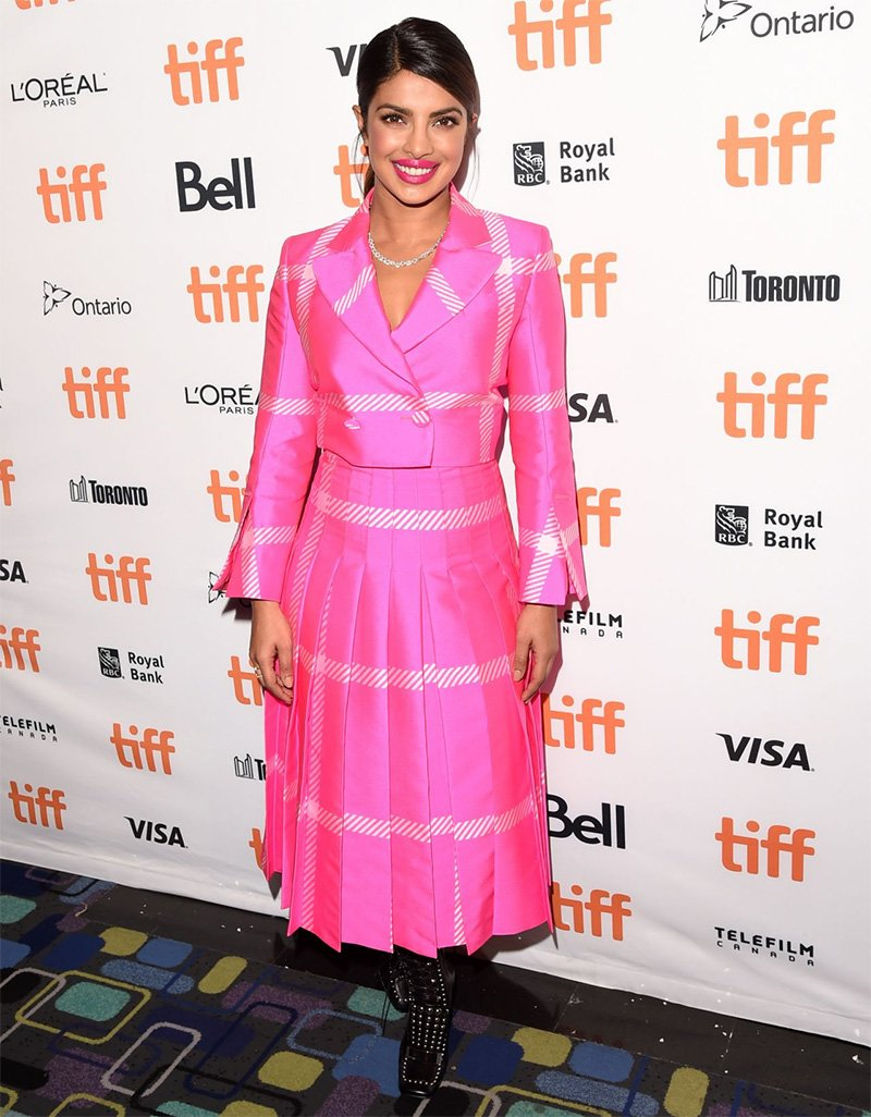priyanka chopra at the tiff 2017