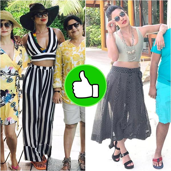 priyanka chopra looks beautiful during her 2017 birthday vacation