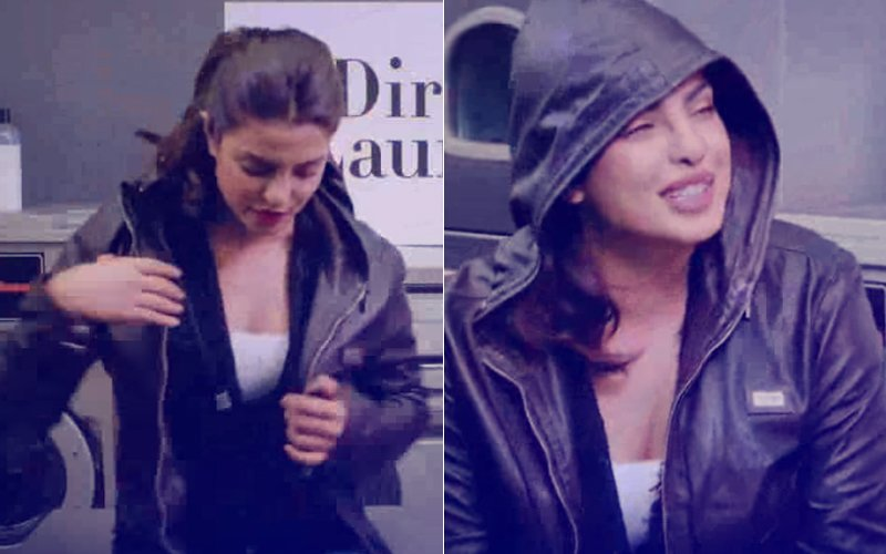 Priyanka Chopra's 'Dirty' Laundry: Baywatch Star Still Wears Ex-Boyfriend's Jacket!