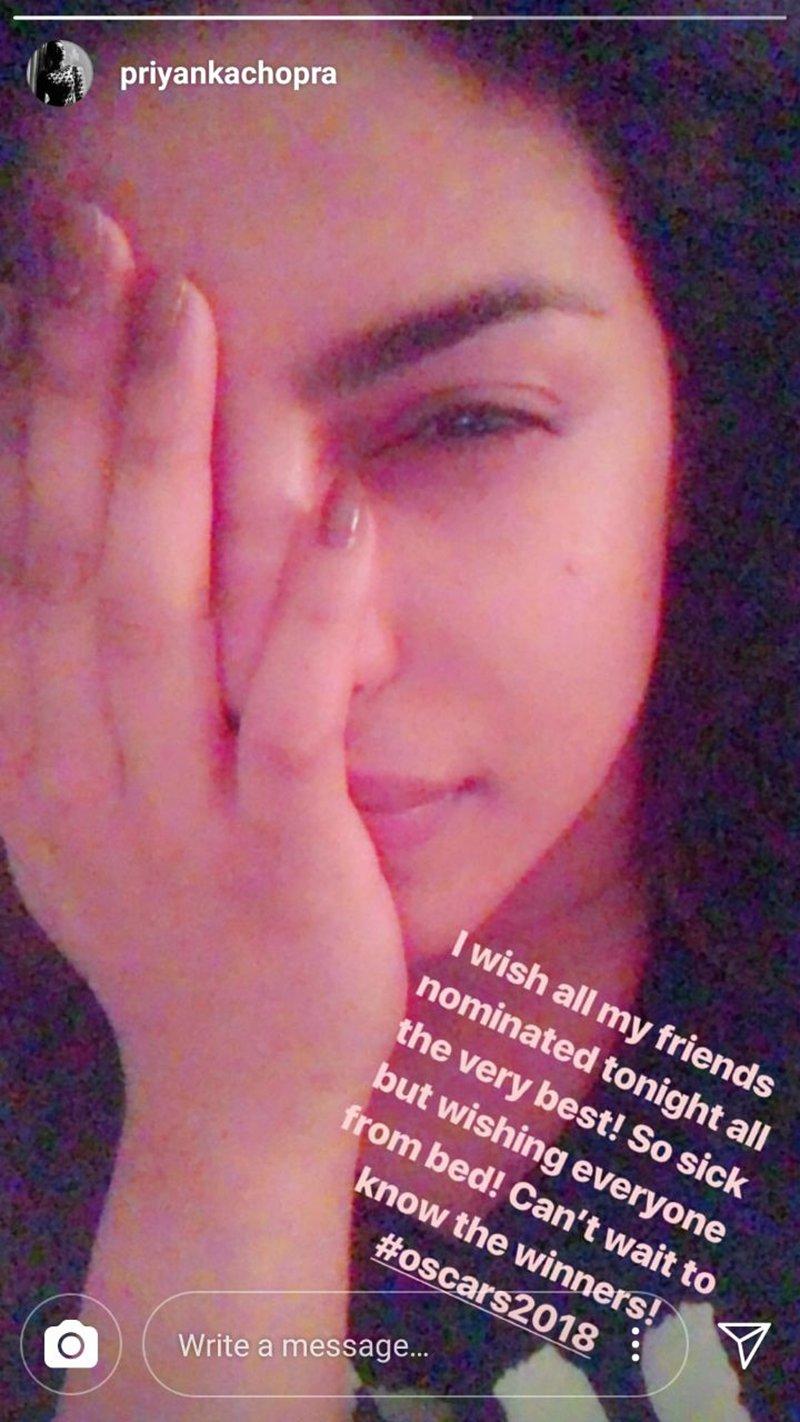 priyanka chopra for oscars