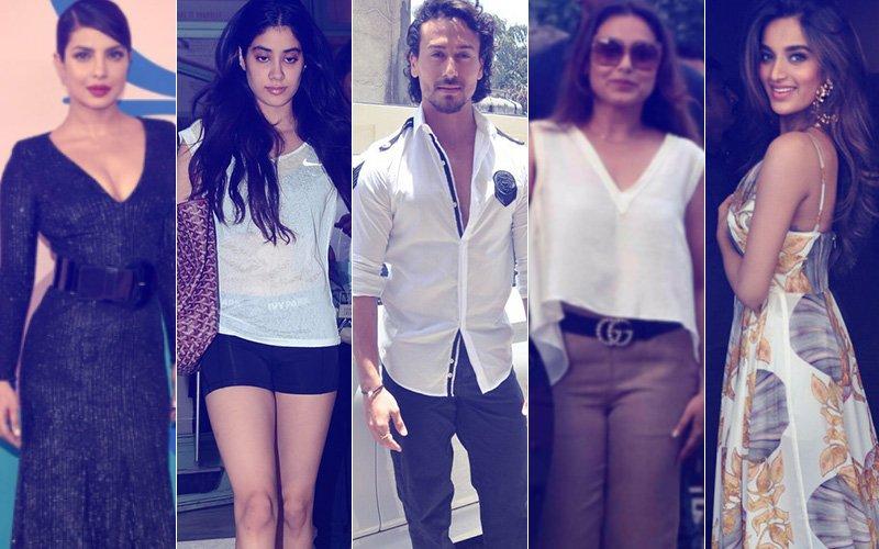 STUNNER OR BUMMER: Priyanka Chopra, Jhanvi Kapoor, Tiger Shroff, Rani Mukerji Or Nidhhi Agerwal?