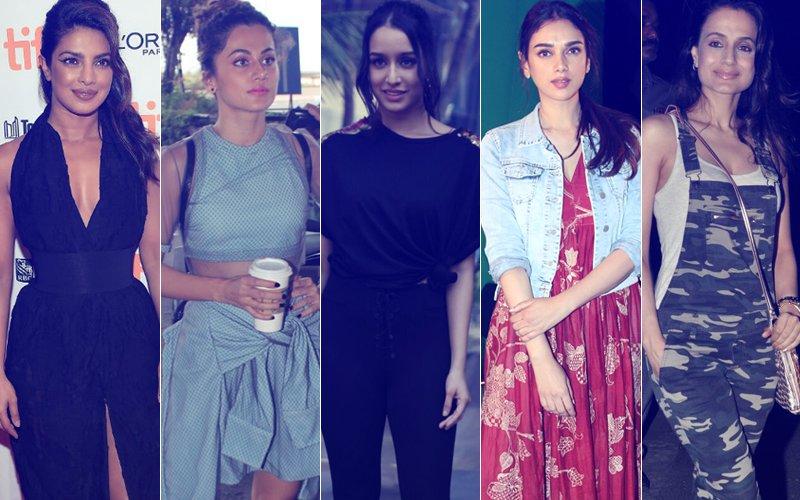 STUNNER OR BUMMER: Priyanka Chopra, Taapsee Pannu, Shraddha Kapoor, Aditi Rao Hydari Or Ameesha Patel?