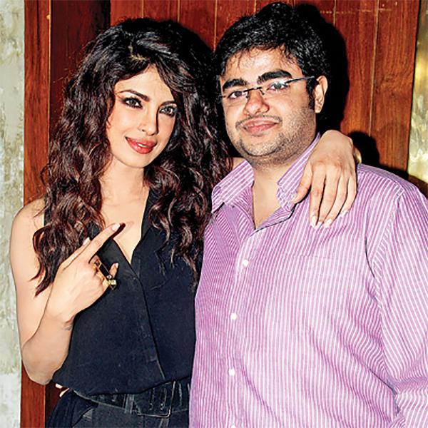 priyanka chopra with brother siddharth chopra