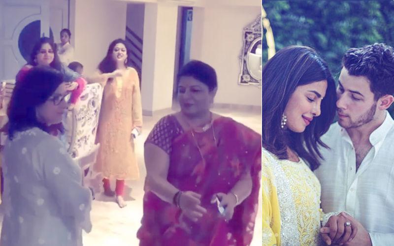 प्रियंका चोपड़ा और निक जोनास की मां ने पंजाबी गाने पर किया जमकर डांस, रोका सेरेमनी का ये वीडियो हो रहा है वायरल