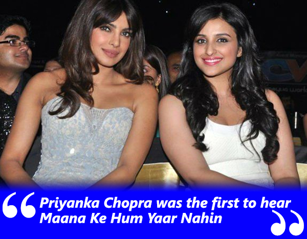 pryanka and parineeti