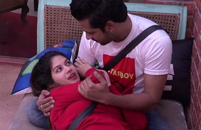 puneesh sharma and bandagi kalra in bigg boss season 11