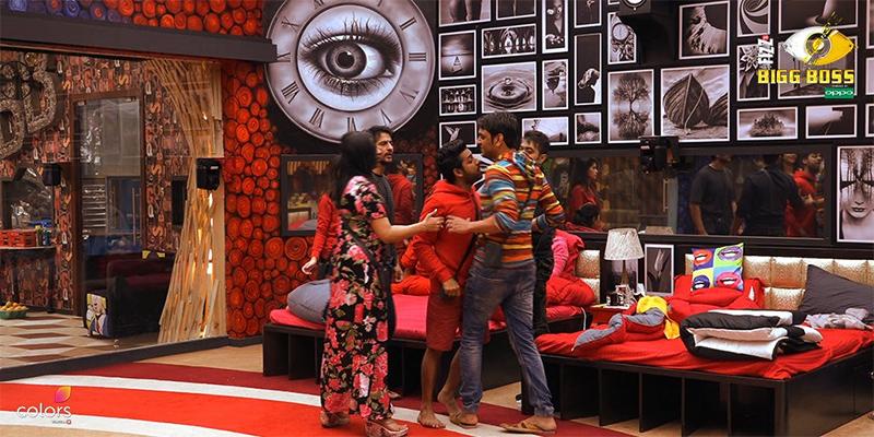 puneesh sharma and vikas gupta fight in bigg boss 11