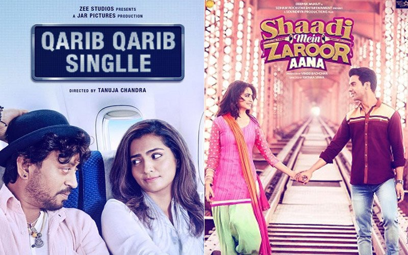 Box-Office Collections Day 1: Qarib Qarib Singlle Expected To Spurt Over The Weekend, Shaadi Mein Zaroor Aana Fails To Draw Crowds