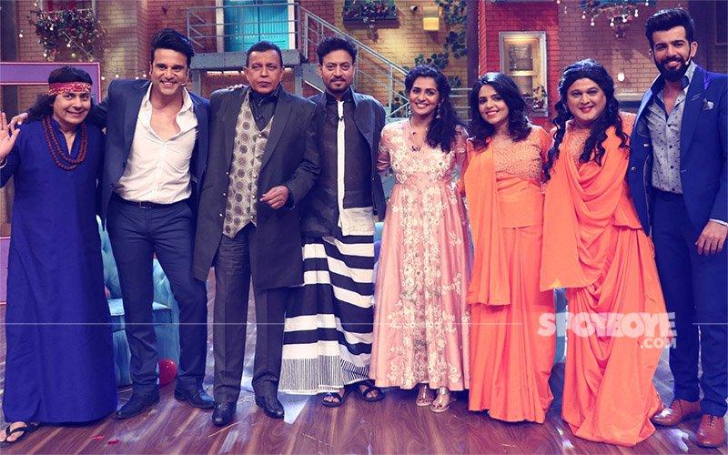 Irrfan Khan & Parvathy Promote Qarib Qarib Singlle On The Drama Company