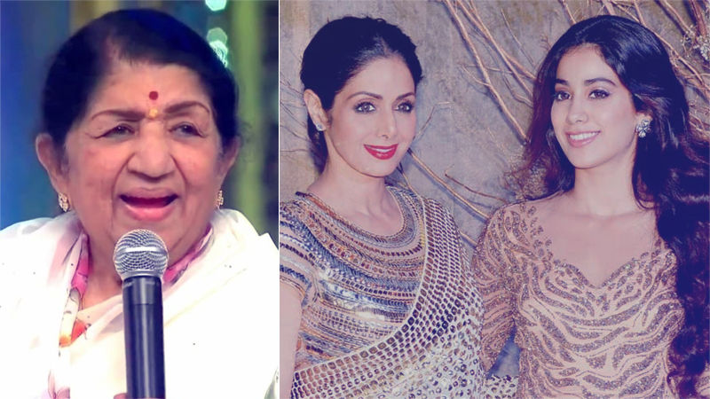 Love From India's Nightingale: Lata Mangeshkar Wants To Sing For Sridevi's Daughter Janhvi Kapoor