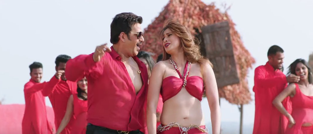 raai laxmi and ravi kishen in julie 2