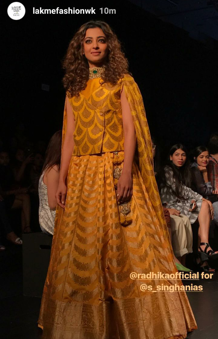 radhika apte at lakme fashion week