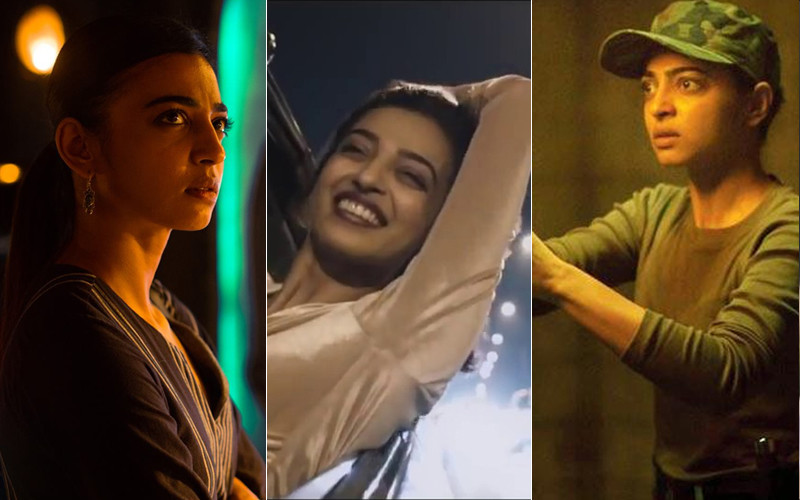 Radhika Apte Still From Sacred Games Lust Stories And Ghoul