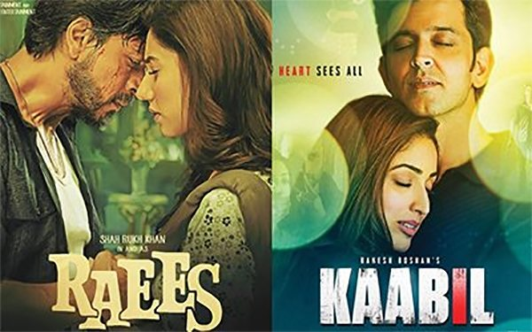 raees and kabil poster