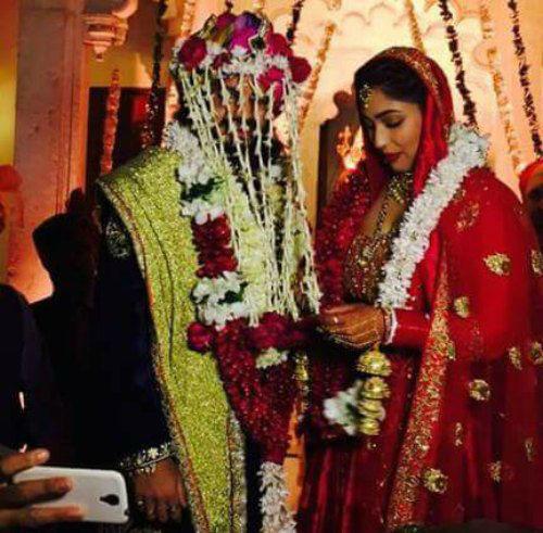 rajat tokas with his wife srishti nayyar
