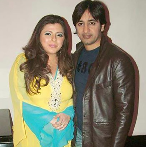 rajeev paul and delnaaz irani in happier times