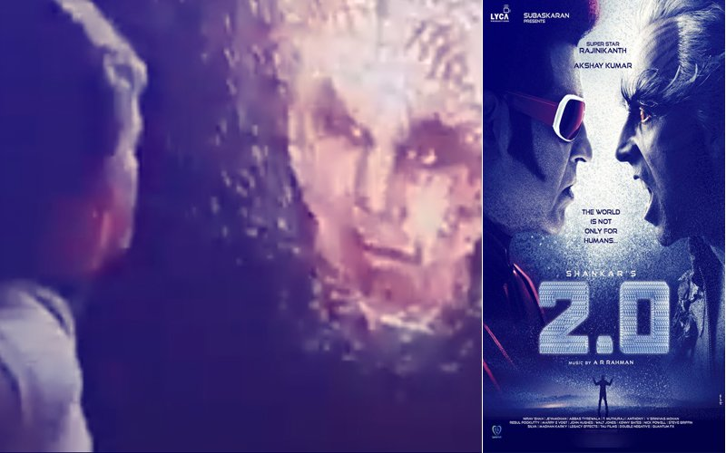 Leaked: Rajinikanth & Akshay Kumar's 2.0 Teaser Surfaces Online, Goes Viral Within Minutes
