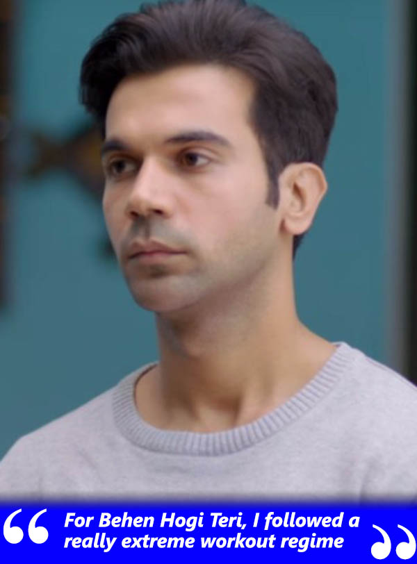 rajkumar rao good still from movie behen hogi teri